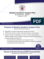Palm Beach County Student Academic Support Plan