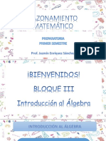 clase 19 octubre lenguaje algebraico