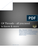 C# threads - all you need to know & more