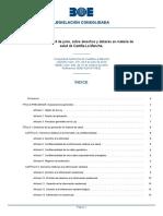 Ley  derechos y deberes en materia de salud de Castilla-La Mancha_