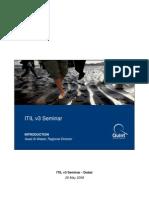 ITIL v3 Seminar - Dubai
