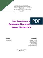 Las Fronteras.