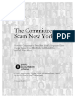 The Committee to Scam New York