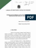 Relatório da deputada Magda Mofatto sobre o caso Daniel Silveira