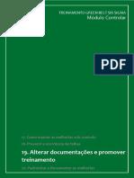 Apostila_CONTROLAR 3. Alterar Documentação e Promover Treinamento