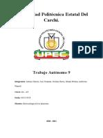 Trabajo autonomo 9 - Análisis de lectura - Aplicaciones de las enzimas