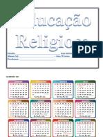 Educação Religiosa - Apostila
