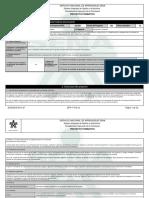 Reporte Proyecto Formativo - 989432 - DIAGNOSTICO Y PROPUESTA DE MEJ