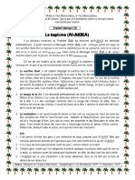 013 21-09-2018 Depliant en Francais Le Bapteme Al Akika