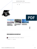 MECANISMOS DE EMPUJE – EPMEX