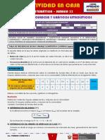 SEMANA 33 - TABLAS DE FRECUENCIA Y GRÁFICOS ESTADÍSTICOS [3ro MATEMÁTICA]