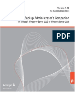 LiveBackup Administrators Companion