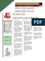 Afiche Brigada de Emergencia al Personal