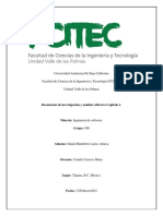 Documento de investigación y análisis reflexivo Capitulo 1