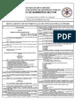 Decreto nº 591-1980 Regulamento de Movimentação Oficiais e Pracas PM-BM