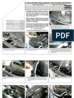 06 08 LEXUS IS GRILLE INSTALLATION MANUAL CARID.COM