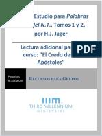 Guía de Estudio, Palabras Clave Del NT, Tomos 1 y 2