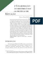 ARTIGO _ Regime de colaboração o contexto histórico das ações e das praticas em educação cap-07