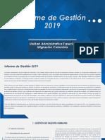 Informe de Gestión migratoria 2019_