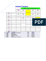 Time Table SP11 Latest