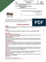 Syllabus Historia de México II 2021 1
