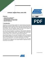 AVR223 Digital Filters with AVR