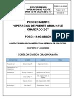 POSGI-11-02-(ODS09 OK) Operación puente grúa nave chancado 2-3 (Rev. 01)