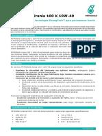 Pds - Petronas Urania 100 k 10w-40 - Esp