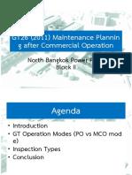 7696_NBK-C2 GT26 (2011) Maintenance Planning after COD Rev.00