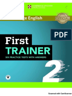 First Trainer 2