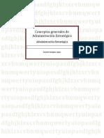 Conceptos generales de Administración Estratégica