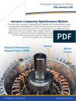 Variable Frequency Synchronous Motors