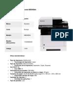 Catálogo multifuncionales