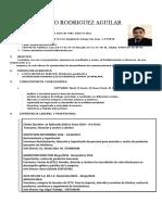 Cv Luis Antonio Rodriguez Aguilar