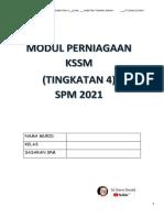 Modul Perniagaan Spm (Tingkatan 4 ) Cikgu Donny