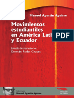 Aguirre M a-Movimientos Estudiantiles