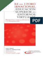 Educacion en Entornos Virtuales