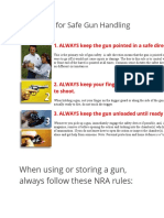 12 rules on gun safety