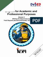 Signed Off EAPPG11 q2 Mod5 Writingthereportsurvey v3