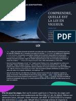 Comprendre^j Quelle Est La Loi en Vigueur PDF