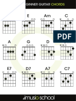 12 Beginner Guitar Chords