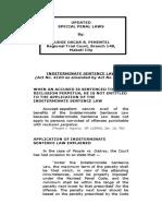 Special Penal Lawsffffffss