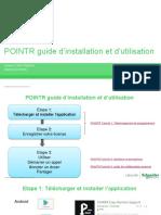 POINTR guide installation et utilisation
