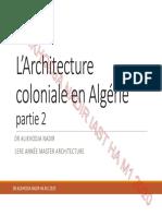 HCA M1 Architecture Coloniale Partie2