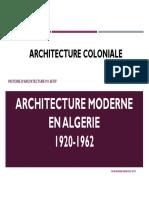 HCA M1 Architecture Coloniale Partie5