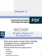 Chapter 4 - Organizational Impacts of Knowledge Management