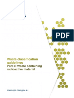 Part 3- Waste containing radioactive material