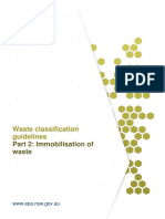 Part 2- Immobilisation of Waste