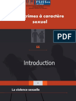 crime à caractère sexuelle