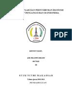 PENGARUH INFLASI DAN PERTUMBUHAN EKONOMI TERHADAP PENGANGGURAN DI INDONESIA2